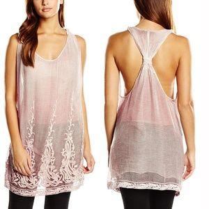 DIESEL Pink T-Sitri-B Sleeveless Dress Party NEW!